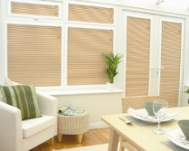 Another image of our cream blinds in Cardiff