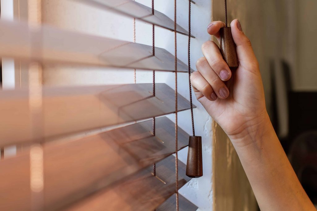 Blinds Newport Window closing concept